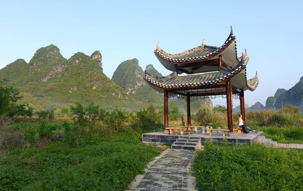 Yangshou, pyöräily, Kiina