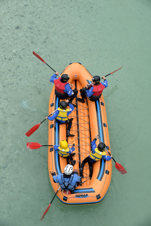 Slovenia, Bovec, rafting