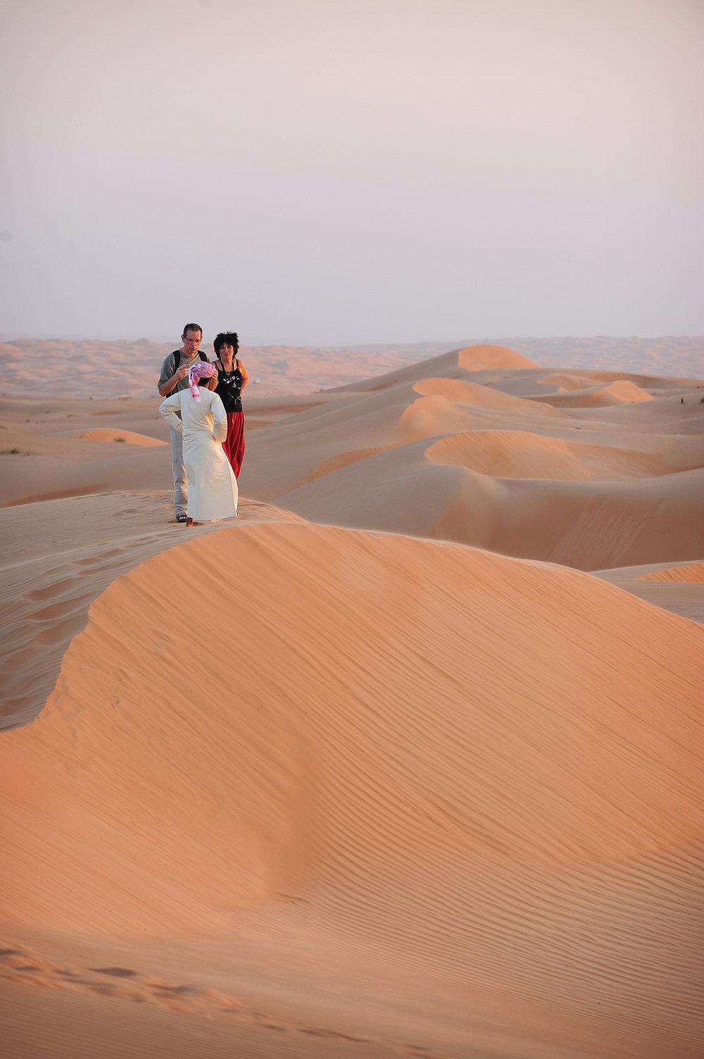 Oman, Wahiba Sand, hiekka-aavikko, autiomaa
