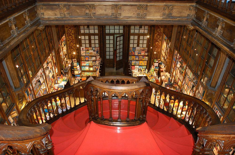 Portugali, Porto, Livraria Lello