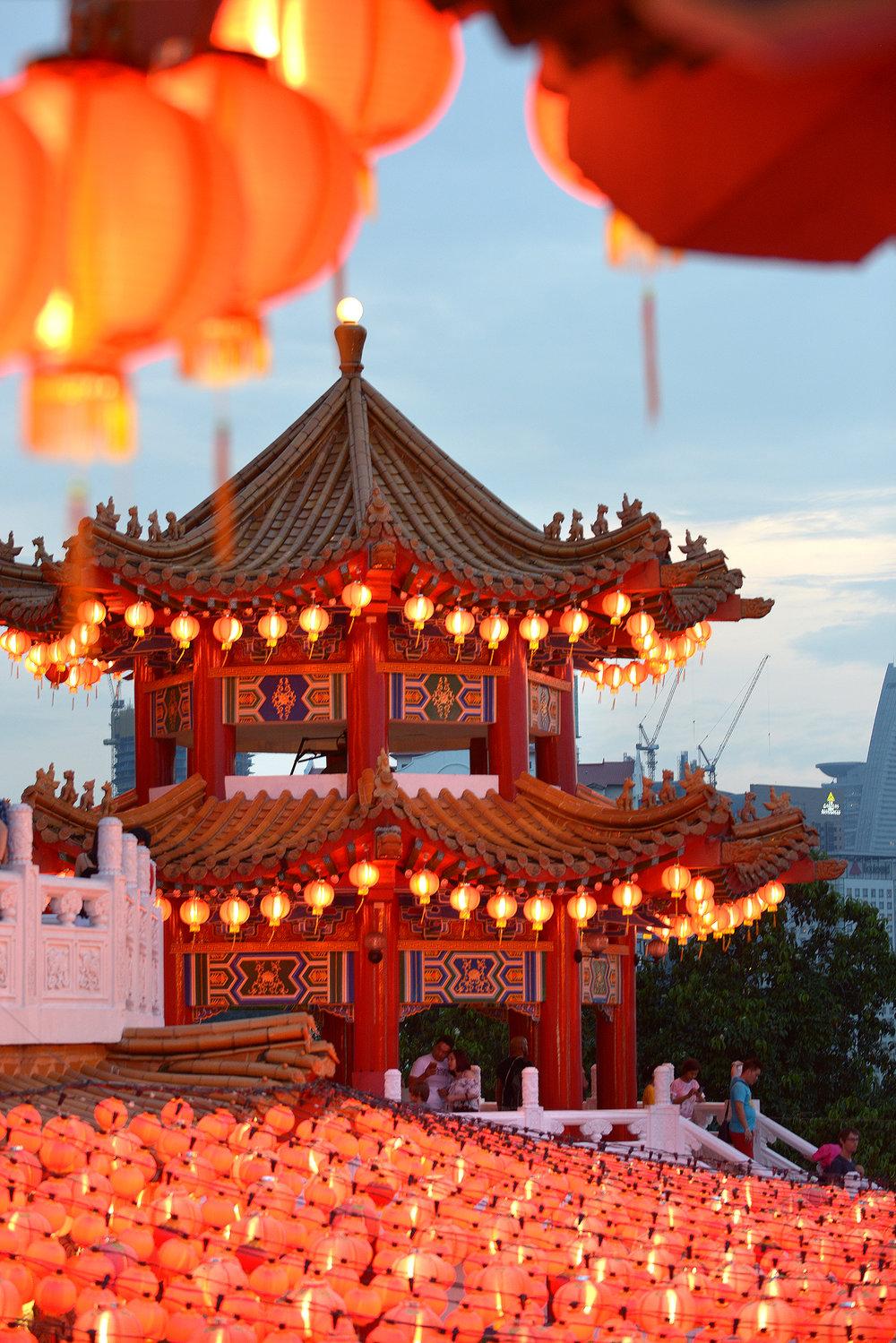 Kuala Lumpur, kiinalainen temppeli