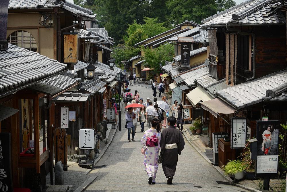 Kioto, Japani, Ninen-Zaka, Sannen-Zaka