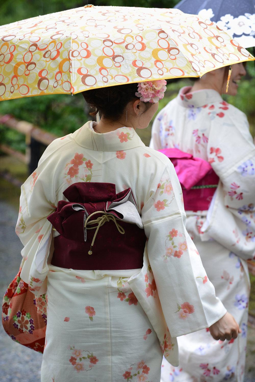 Kioto, Japani, kimono