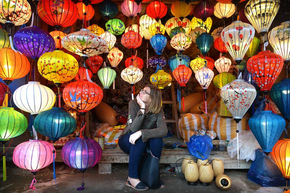Hoi An, Vietnam, kangaslyhdyt