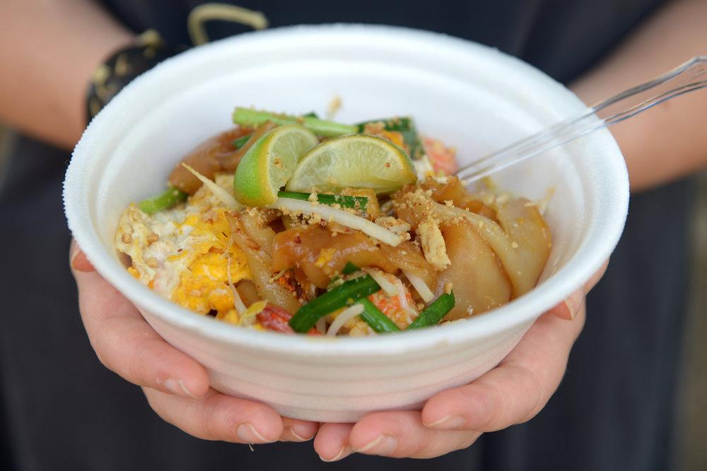 Thaimaa, ruoka, pad thai