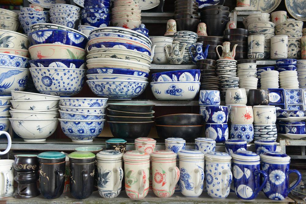 Vietnam, Hoi An, keramiikka