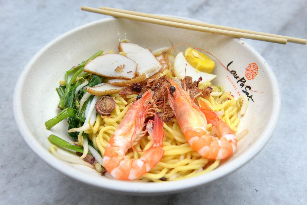 Singapore, ruoka, nuudelit