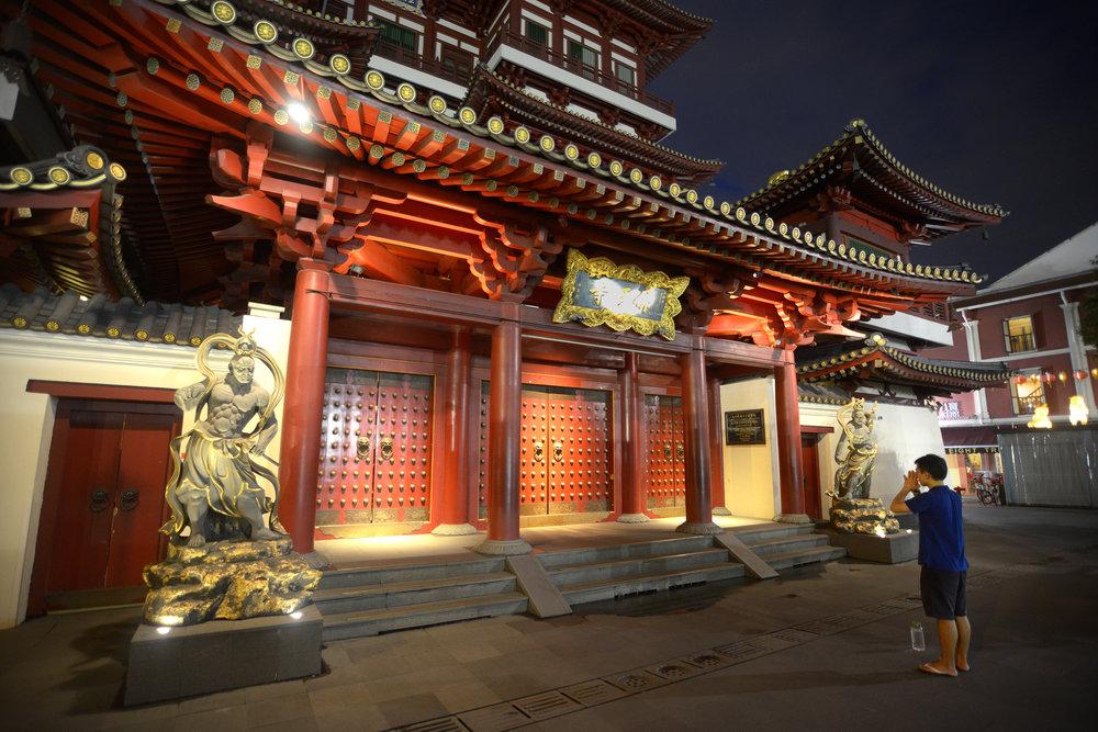Singapore, temppeli, Chinatown