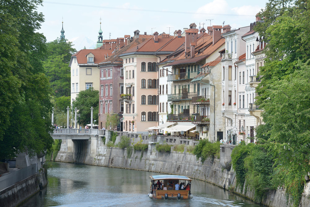 Slovenia, Ljubljana, joki