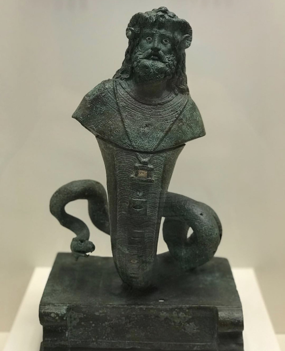"""AVENIR INSTITUTE, """"Sarapis Amun Agatodaemon (Athens National Archeological Museum)"""", 2018"""