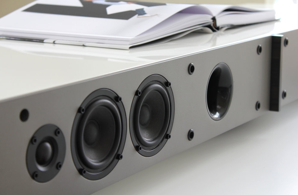 Metallic Sterling Grey on the baffles of ACTION, TT Grand and AIR