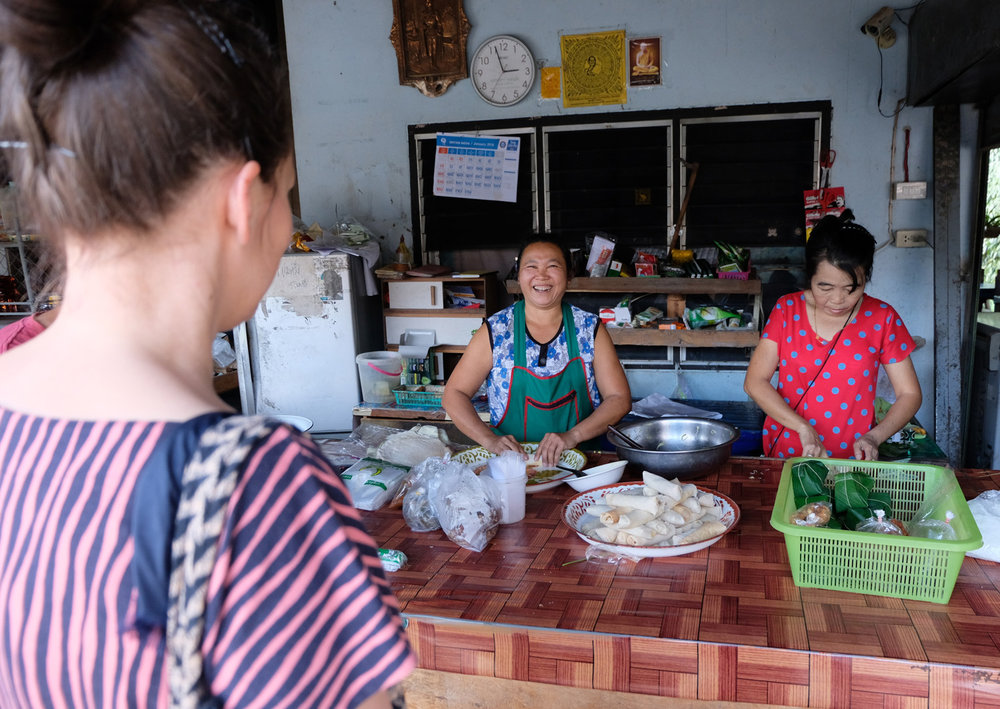 Mae Taeng farmers market