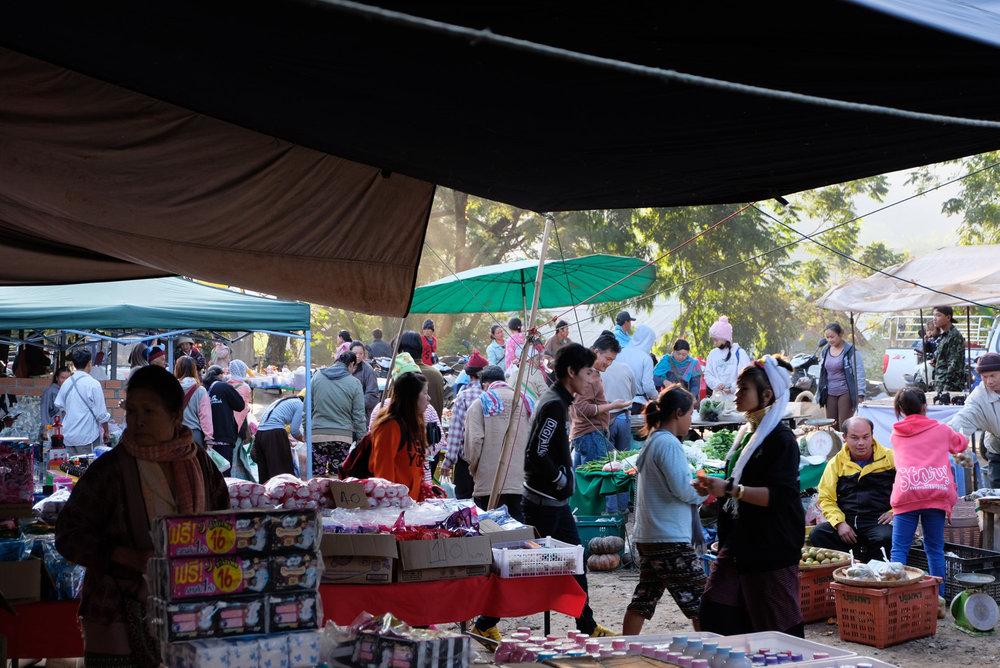 Mae Taeng Farmers Market Chiang Mai