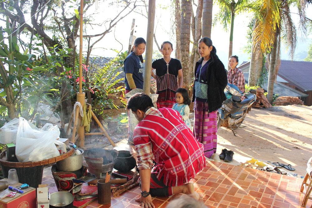 Karen hill tribe Doi Inthanon