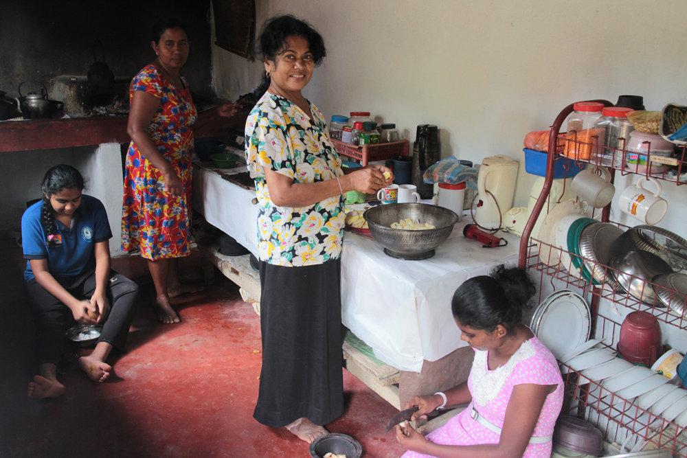 Sri Lanka authentic local cooking