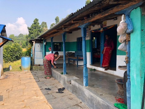 house 2 in kaskikot nepal pokhara trekking annapurna sarangot.jpg