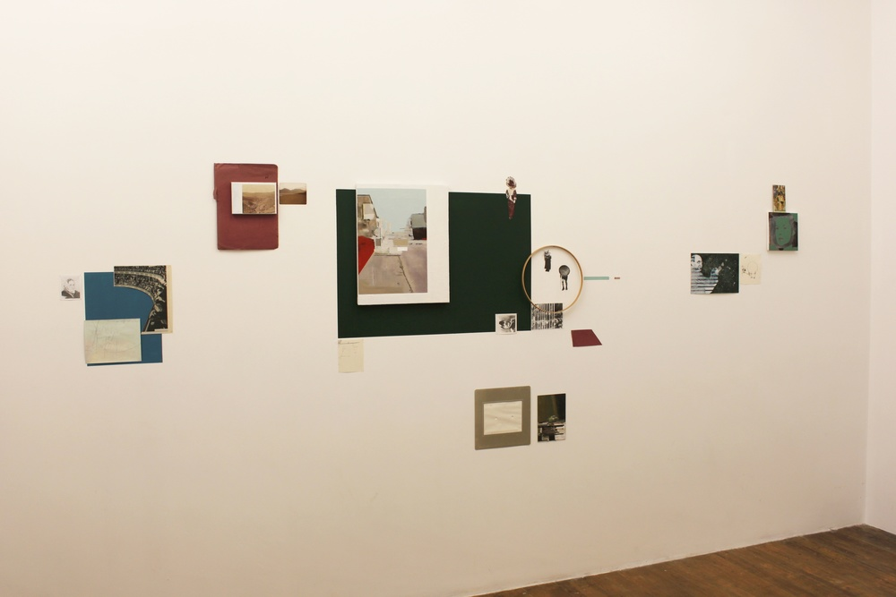 """Manual Retrieval"" showing at ""Diagrams"" Mixed Media Installation"