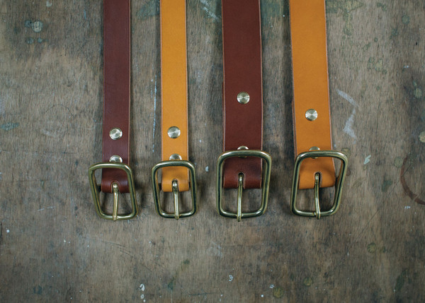 Tan/Dark Belts