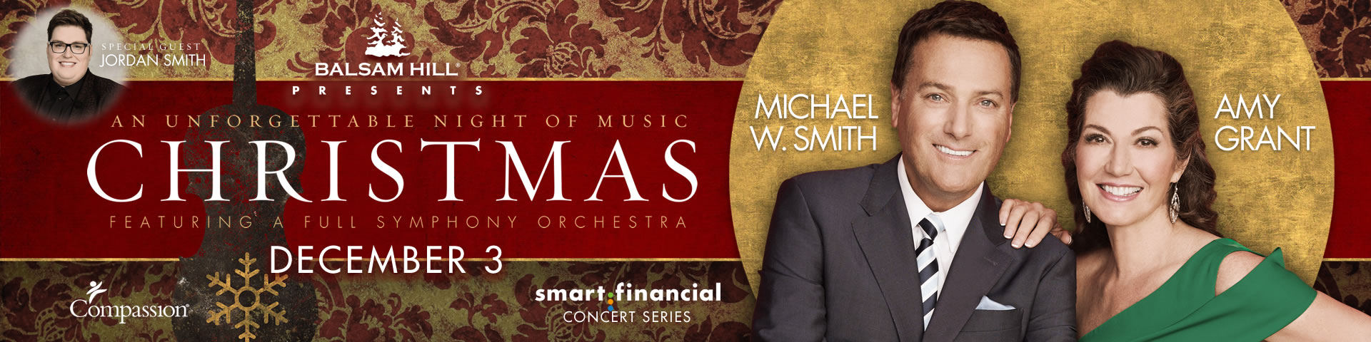 Amy Grant and Michael W. Smith: An Unforgettable Night of Christmas ...