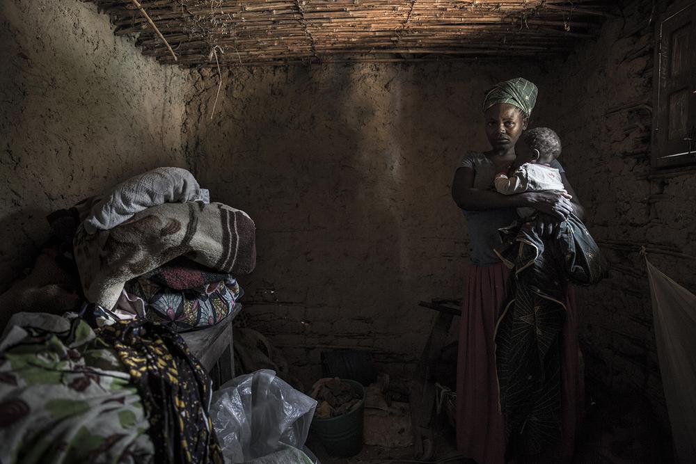 IDP refugee near Beni, DR Congo - assignment for Oxfam Novib