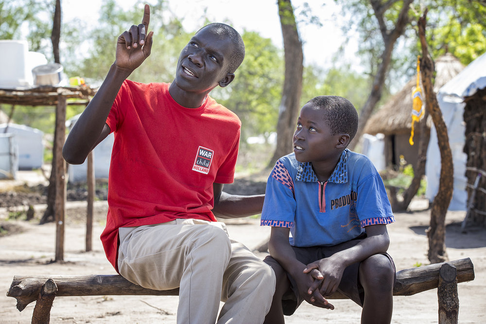201705-Bidi Bidi settlement Uganda-WCH PO Daniel and Joshua-Jij Ik-Jeppe Schilder01.jpg