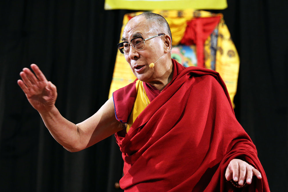 Dalai Lama visits the Netherlands 2014