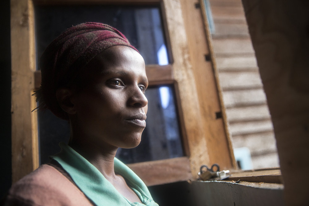 """Muhosa Aline: """" I knew it [rape] was wrong, but not that it was a crime let alone that I should have gone to the hospital to get treatment."""""""