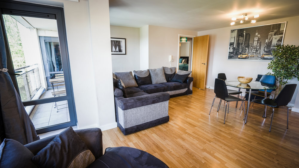 Servived apartment