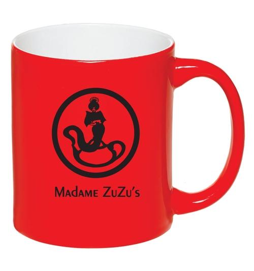 ZUZU'S RED MUG $14.99