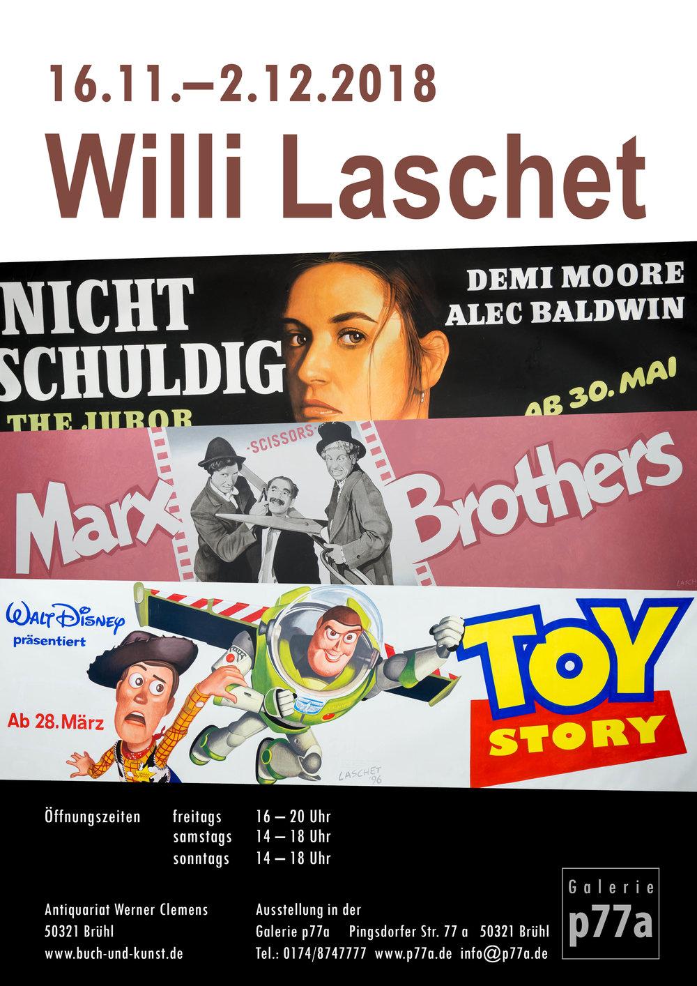 Willi Laschet - von den Anfängen … … zu den Kinoplakaten