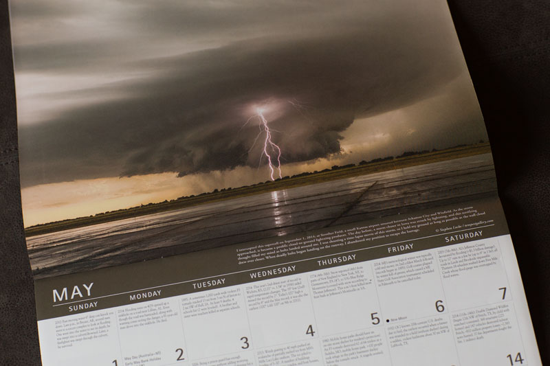 Weather Guide 2016 Calendar