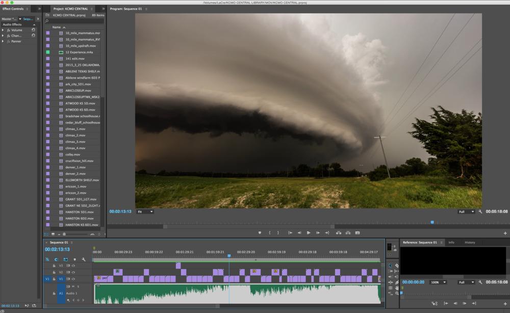 Storm Driven Timeline