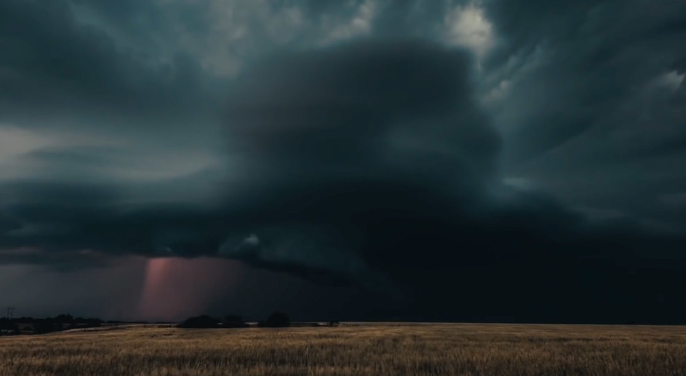 film still (my storm footage)