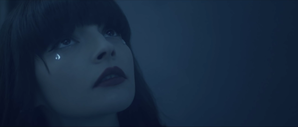film still from Chvrches Clearest Blue