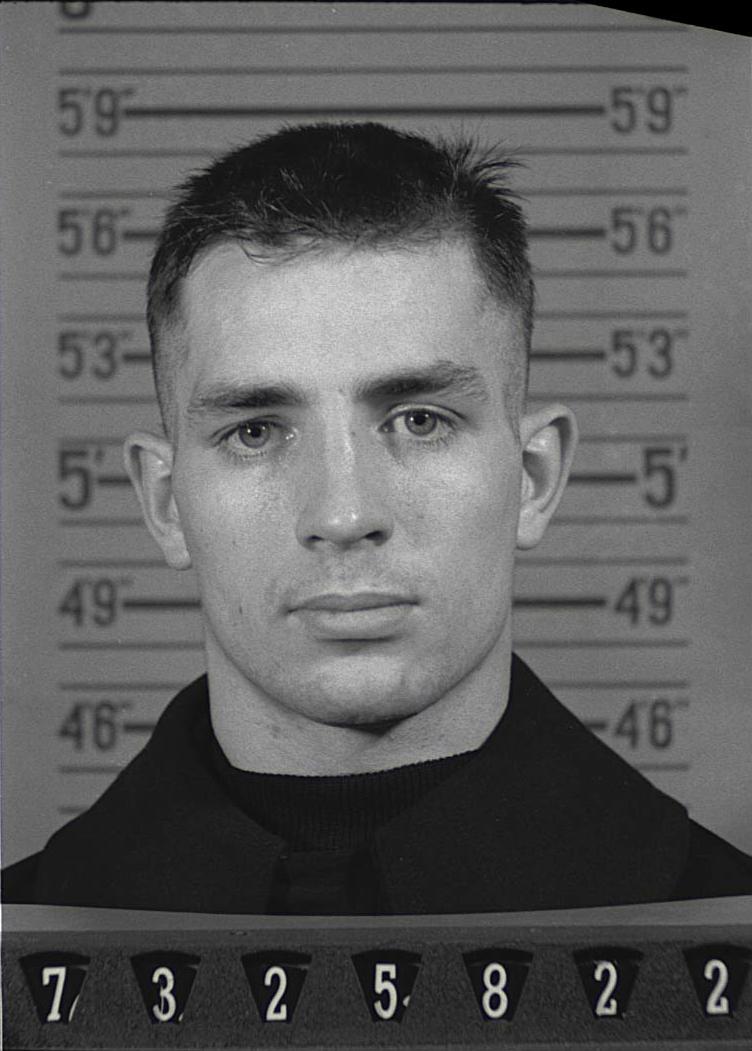 Kerouac's Naval Reserve Enlistment photograph, 1943