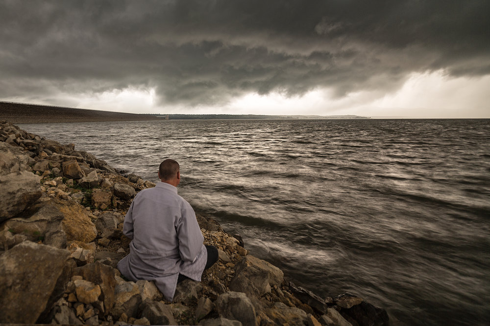 Stephen In A Storm