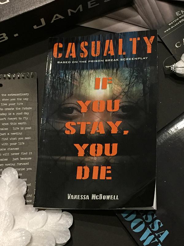 Casualty based on the prison break screenplay.