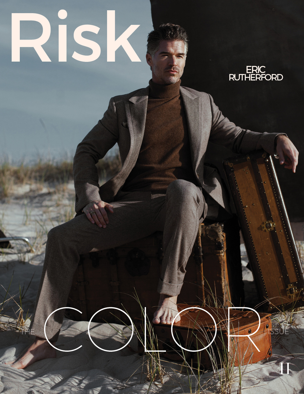 RISK II: THE COLOR ISSUE (Cover 2) BUY PRINT $30.00 BUY DIGITAL $5.00