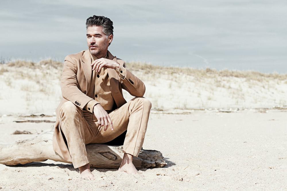 Shirt & Pants  Deaveaux , Jacket  Martin Keehn