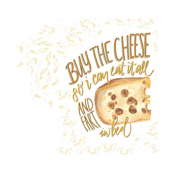 Buy the Cheese Illustration
