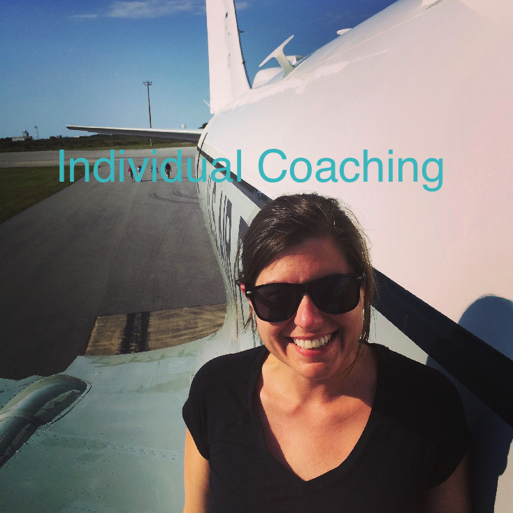 Individual Coaching.  Let's Get You Where You Want to Go!