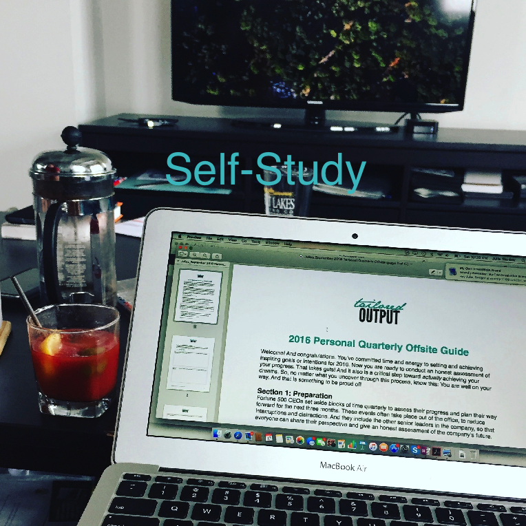 Self-Study.  You Have Everything You Need Within You.
