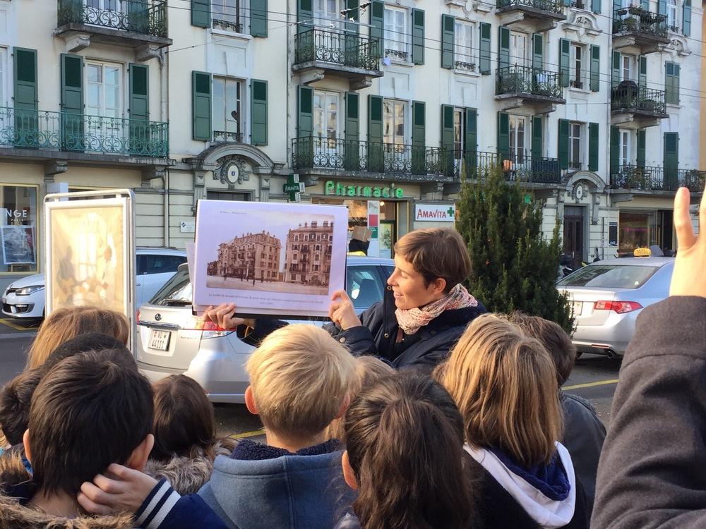 Renens, Collège des Pépinières, visite 5-6P, classe de Mme Lacroix // nov. 15