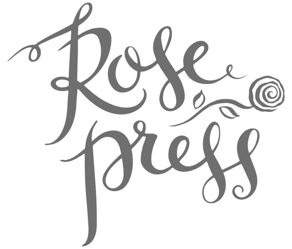 Rose Press Wedding Stationery