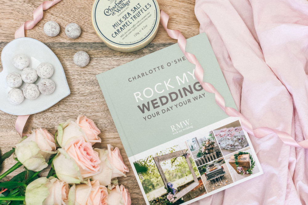 Rock My Wedding Book - Absolutely thrilled to be recommended by Charlotte O'Shea, the founder of Rock My Wedding, in her bestselling book. You can pick up your copy here...