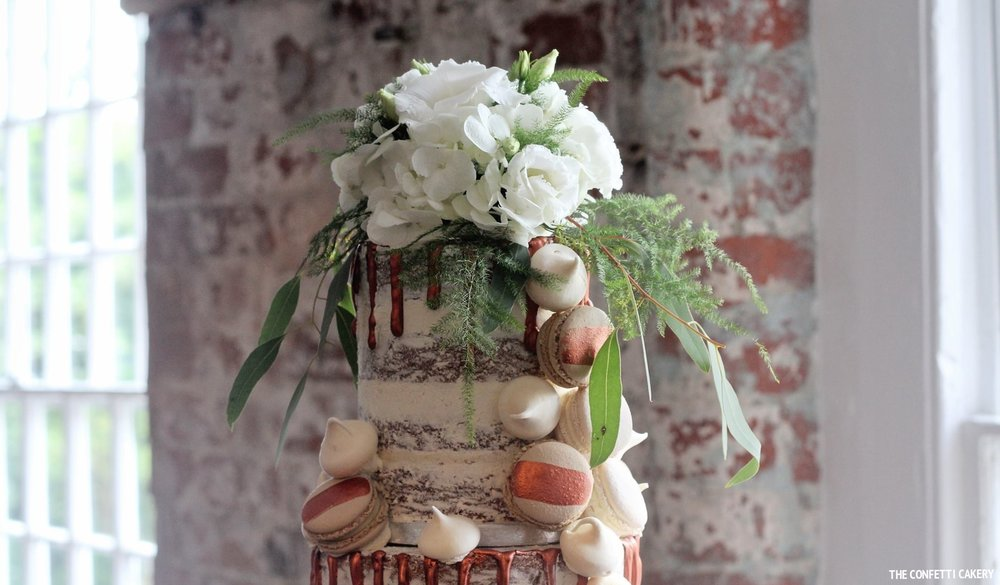 SEMI-NAKED CAKES - £360 Three tiers to serve 100 portions£390 Three tiers to serve 120 portions£480 Four tiers to serve 150 portions