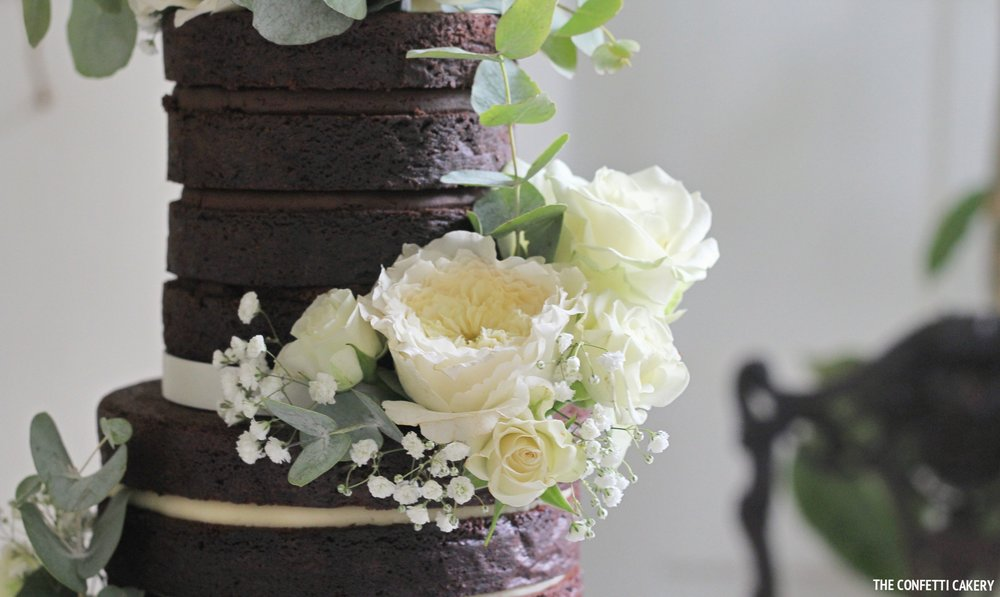 NAKED CAKES - £287 Three tiers to serve 100 portions£317 Three tiers to serve 120 portions£428 Four tiers to serve 150 portions
