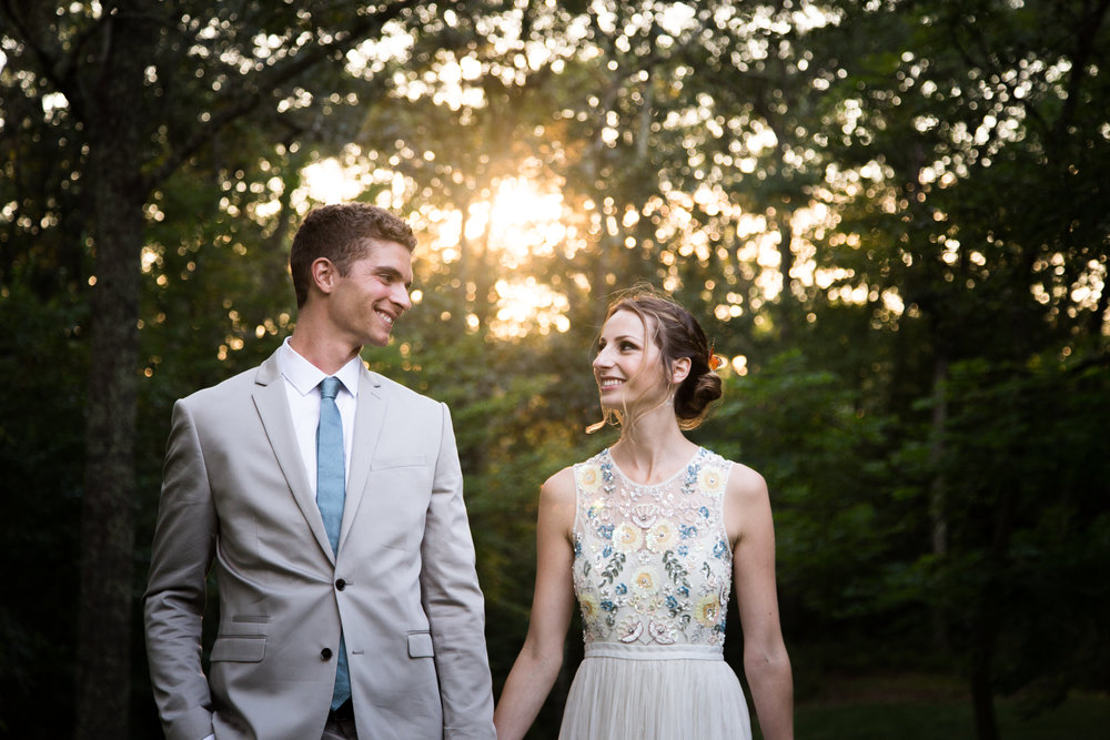 Rhode Island Forest Wedding