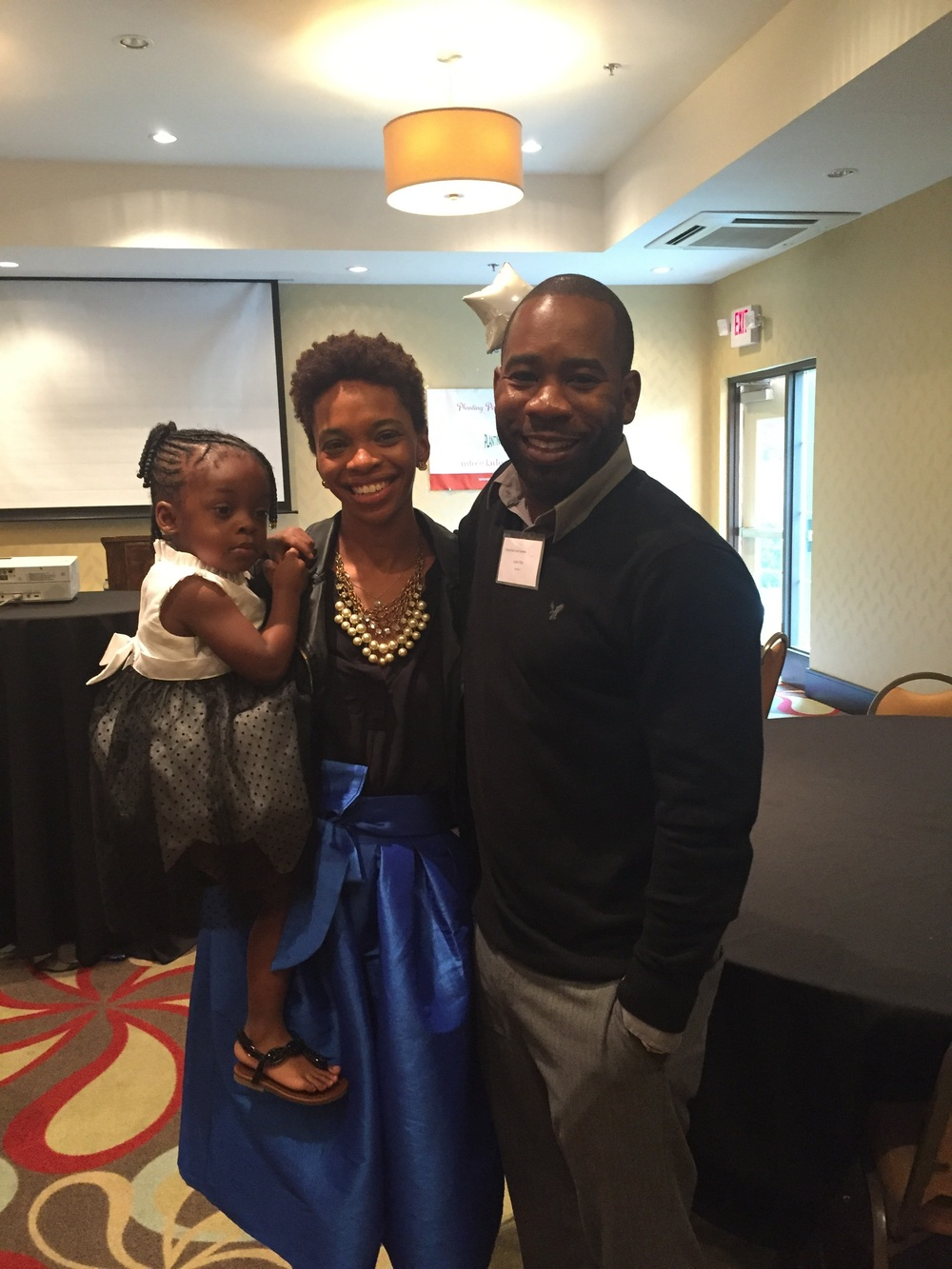 Law of Attraction Coach, Andre Hills, Founder of  The Delta Influence  (& my daughter, Saylor)