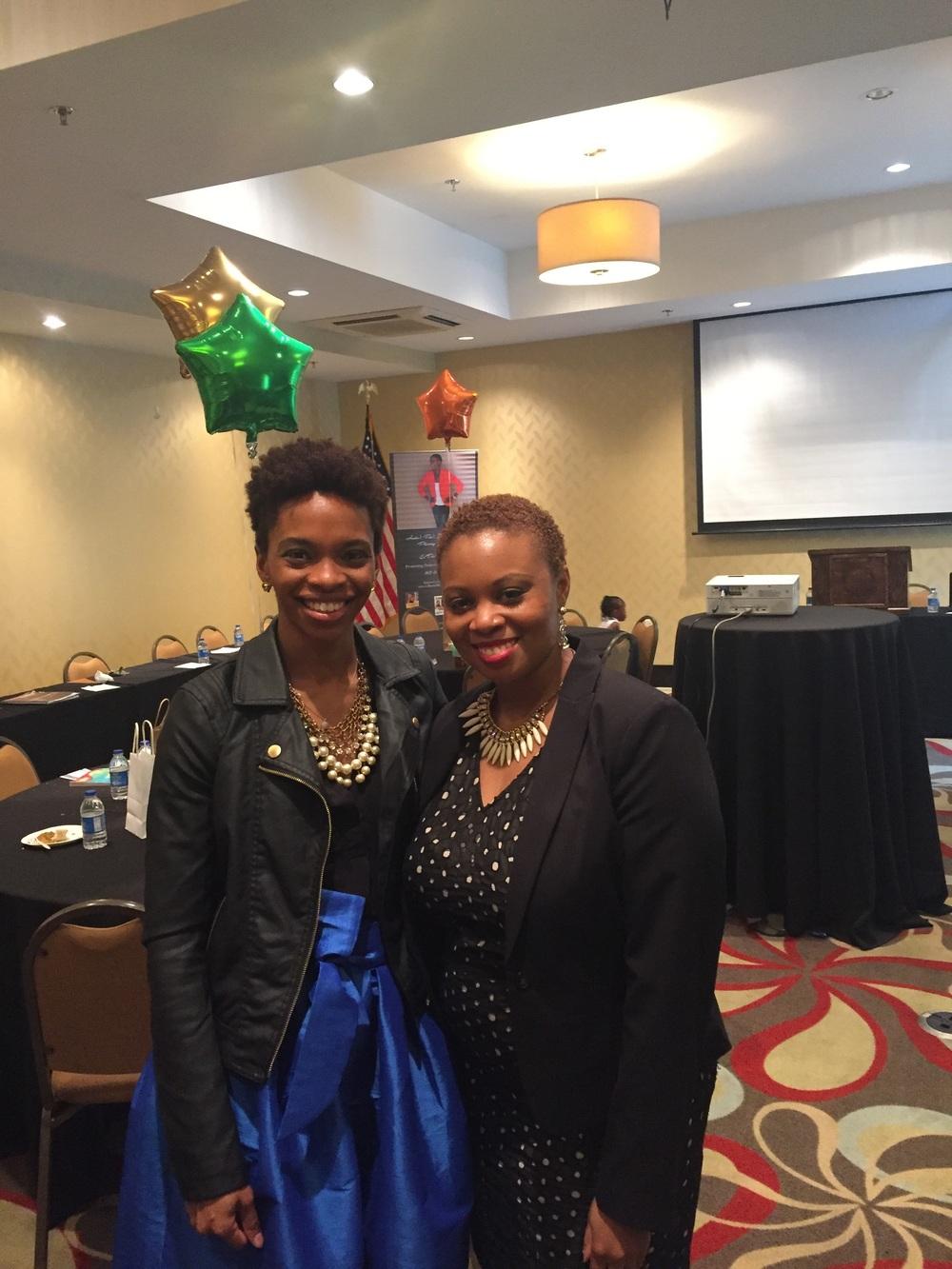 The Queen of Content, Philisha Mack of  The Mack Institute  in Atlanta